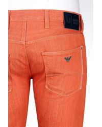 Armani Jeans - Extra Slim Rinse Wash Jeans - Lyst