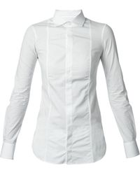 DSquared2 White Classic Shirt - Lyst