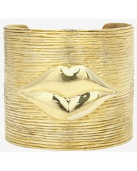 Kelly Wearstler - Fixation Lips Cuff - Lyst