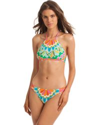 Trina Turk | multicolor High Neck Bra | Lyst