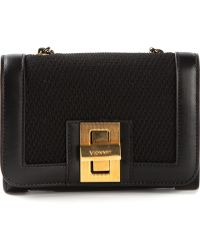Vionnet Twist Lock Shoulder Bag black - Lyst