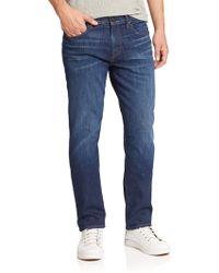 J Brand   Cole Straight Leg Jeans   Lyst