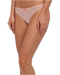 BCBGeneration The Told You So Thong - Lyst
