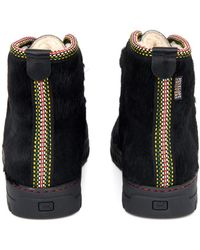 Penelope Chilvers - Incredible Calf-hair Ankle Boots - Lyst