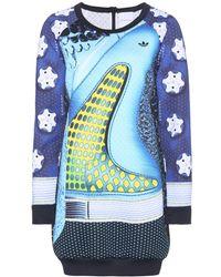 Mary Katrantzou Printed Sweater Dress - Lyst