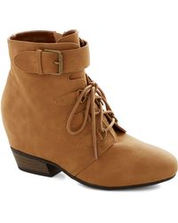 ModCloth More Ways Than One Bootie - Lyst