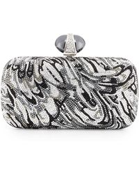 Judith Leiber Couture New Soap Dish Crystal Clutch Bag - Lyst