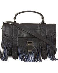 Proenza Schouler Ps1 Tiny Fringed Satchel Bag - For Women - Lyst