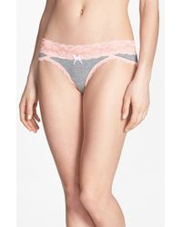 Honeydew Intimates Lace Waistband Hipster Panties - Lyst