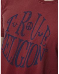 True Religion True Circle Tshirt - Lyst