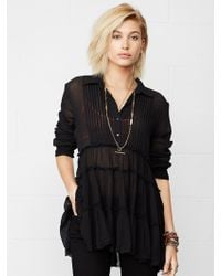 Denim & Supply Ralph Lauren Tiered Cotton Tunic - Lyst