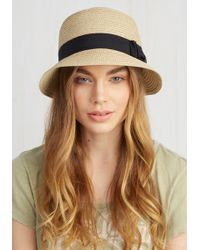 Jeanne Simmons Accessories - Cloche To Home Hat In Tan - Lyst