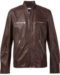 Brunello Cucinelli Zipped Jacket - Lyst