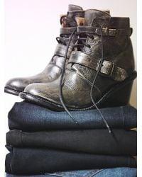 Bed Stu Womens Marlon Wedge Boot - Lyst