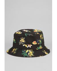 Obey Sativa Floral Bucket Hat - Lyst