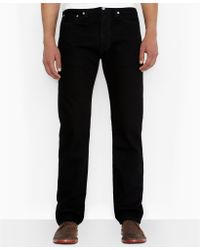 Levi's Big and Tall 505 Regularfit Black Jeans - Lyst