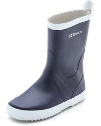 Tretorn - Wings Rain Boots - Blue - Lyst