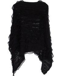 Pieces Cloak black - Lyst