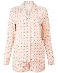 Stella McCartney   Matchstick Print Pyjama Set   Lyst