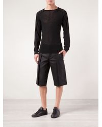 Gareth Pugh - Exaggerated Pleat Shorts - Lyst