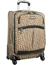 CALVIN KLEIN 205W39NYC - Madison Signature 20 Inch Suitcase - Lyst