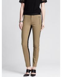Banana Republic Skinny Ankle Zip Pant - Lyst