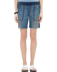 NSF Clothing Harlan Cut-Off Shorts - Lyst