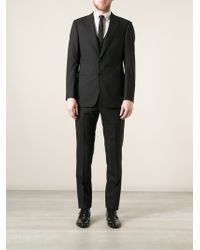 Armani Classic Three Piece Suit - Lyst
