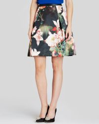 Ted Baker Skirt - Paladia Opulent Bloom - Lyst