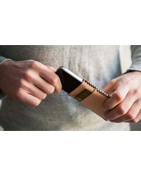 Draught Dry Goods Nude Iphone Wallet - Lyst