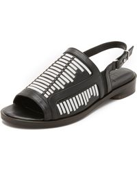 Thakoon Addition - Taylor Flat Sandals - Lyst