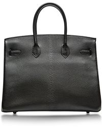 Heritage Auctions Special Collection Hermes 35cm Black  Fucshia Chevre Special Order Birkin - Lyst