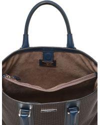 Serapian - Resin Embossed Leather Tote Bag - Lyst