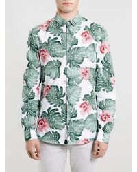 Topman Selected Homme Hawaiian Shirt - Lyst