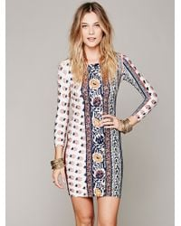 Free People Hyperion Bodycon Dress - Lyst