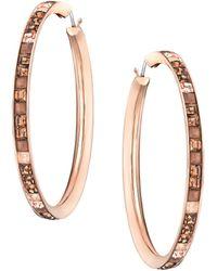 Swarovski Viktor and Rolf Frozen Crystals Hoop Earrings - Lyst