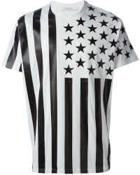 Givenchy Stars And Stripes Print T-Shirt - Lyst