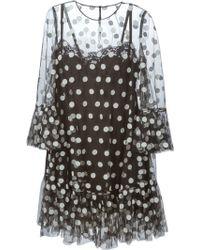 Dolce & Gabbana Polka Dot Print Dress - Lyst