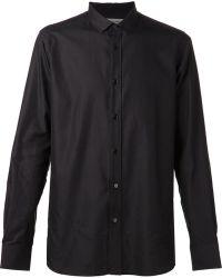 Saint Laurent Black Gradient Shirt - Lyst