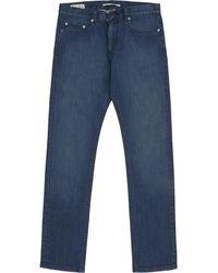 Reiss Hawbury Washed Denim Jeans - Lyst
