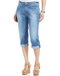 Levi's Medium Blue Wash - Lyst