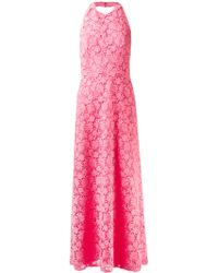 Valentino Floral Lace Dress - Lyst