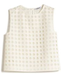 Cacharel Circle Overlay Top - Lyst