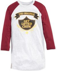 LRG Big and Tall Get Lifted Raglan T-shirt - Lyst