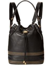 Badgley Mischka Penny Soft Pebble Mini Stud Backpack - Lyst