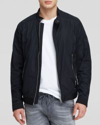 Diesel Ares Cotton Nylon Jacket - Lyst