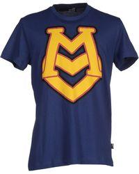 Love Moschino | blue T-shirt | Lyst
