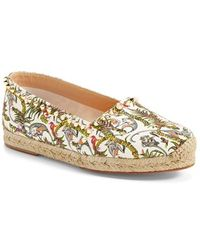 christian louboutin ares leather espadrille flats