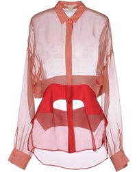 Antonio Berardi Shirt pink - Lyst