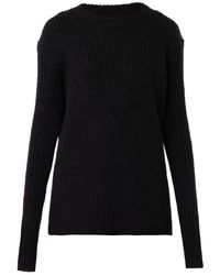 Haider Ackermann Ribbedknit Sweater - Lyst